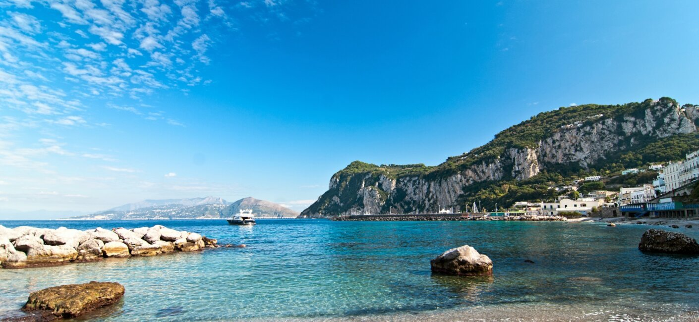 Cruise Italy's idyllic coastline during an Amalfi Coast luxury yacht charter and take in all the sights from mountainside lemon groves to Capri's famed Blue Grotto