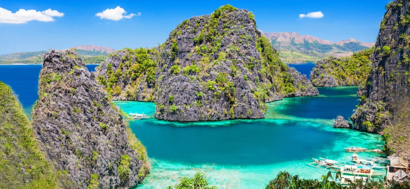 Sunny skies and sunny dispositions are on offer as you explore the 2,000-year-old Banaue Rice Terraces, wall dive at Yapak and discover the Puerto Princesa Subterranean River during a Philippines luxury yacht charter