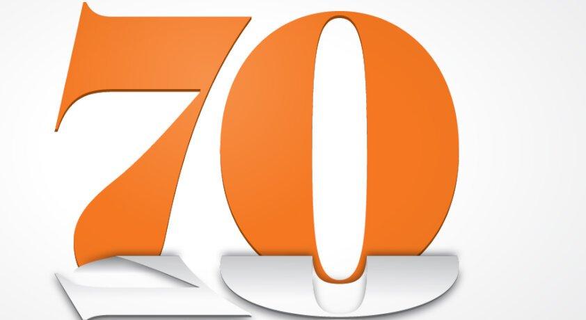 Seventy Reasons To Celebrate