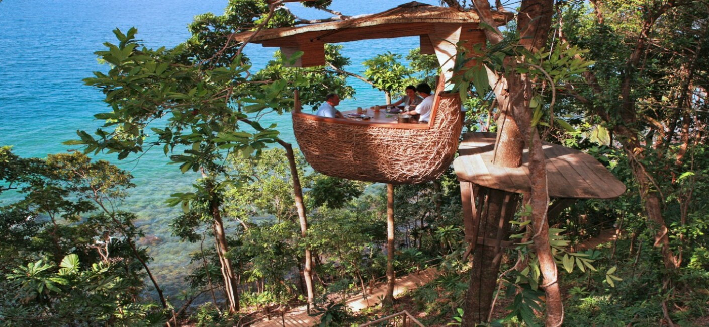 TAKE YOUR MEAL TO NEW HEIGHTS — TREEPOD DINING | Northrop ...