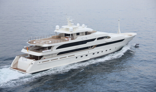 SUPERYACHT MAYBE NOW FOR SALE WITH NORTHROP & JOHNSON photo 1