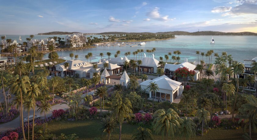 THIS IS THE NEW BERMUDA. AND THE FIRST RITZ-CARLTON RESERVE RESIDENCE WITH A SUPERYACHT MARINA