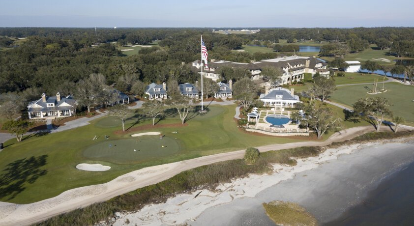 SEA ISLAND IS NOT RESTING ON ITS LAURELS