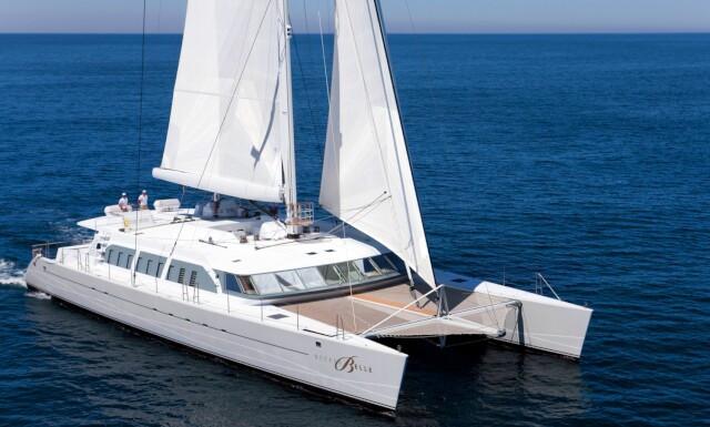 NECKER BELLE  yacht for charter
