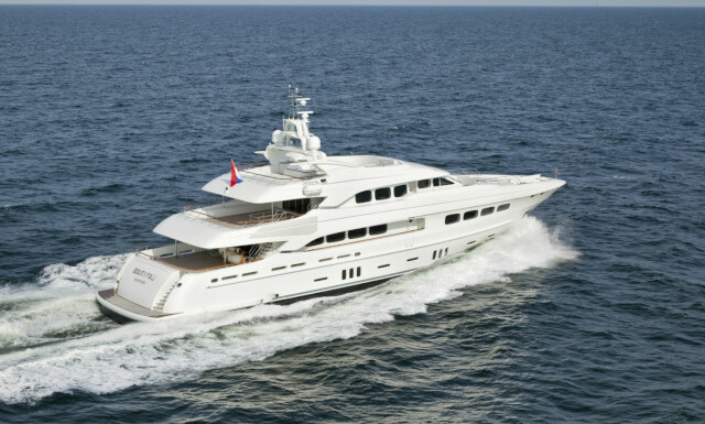 LATITUDE  yacht for charter