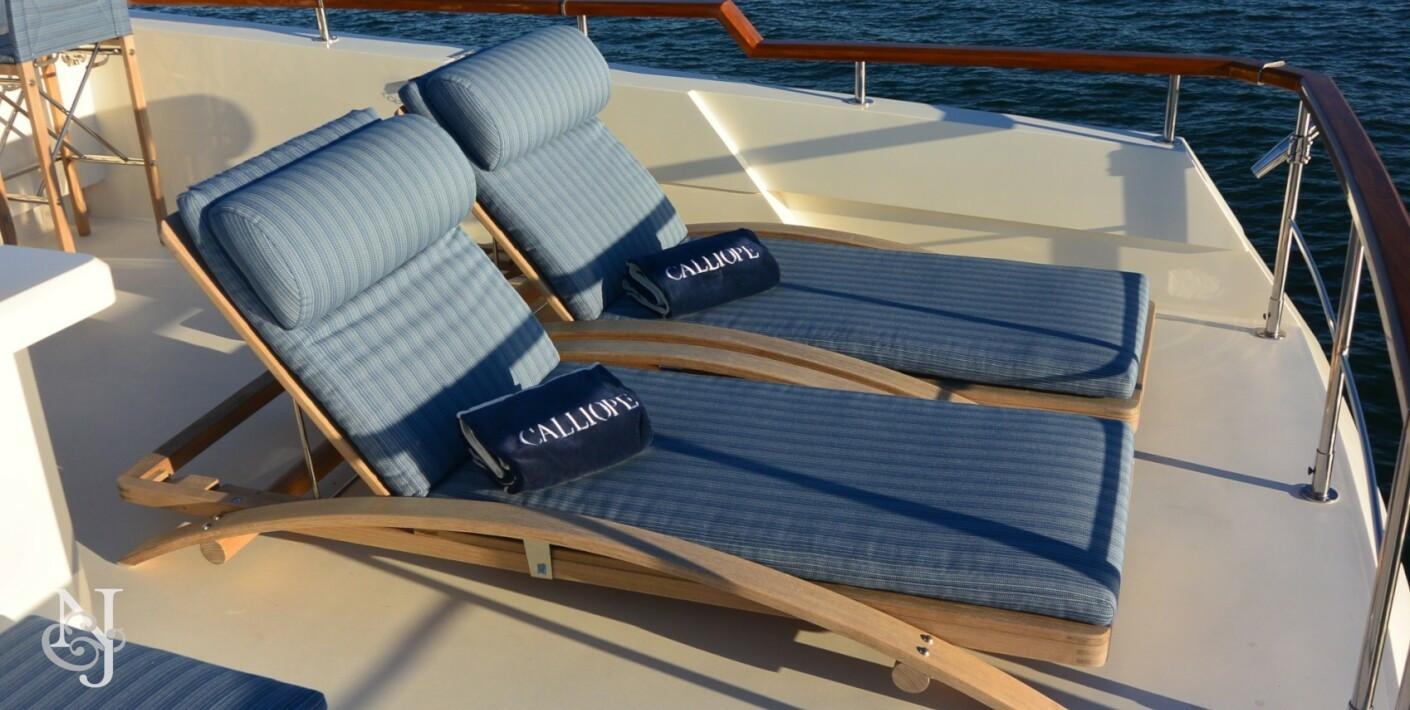 Calliope Yacht Lazzara Luxury Motor Yacht Northrop