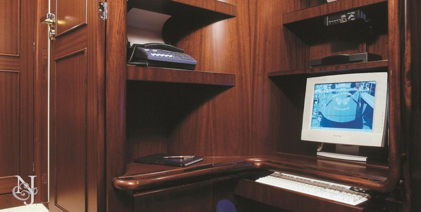 Northrop And Johnson >> BLUE PAPILLON Yacht   Jongert Luxury Sail Yacht   Northrop ...