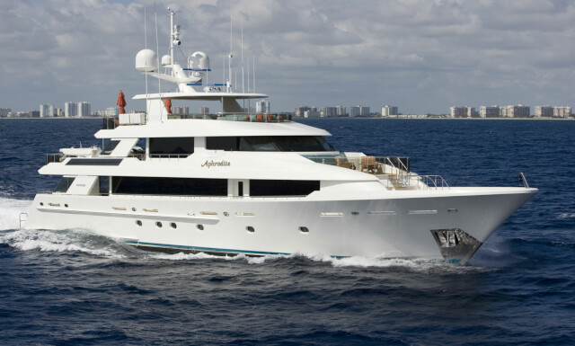 APHRODITE yacht for charter