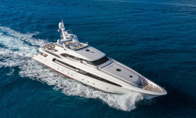 USHER yacht for charter
