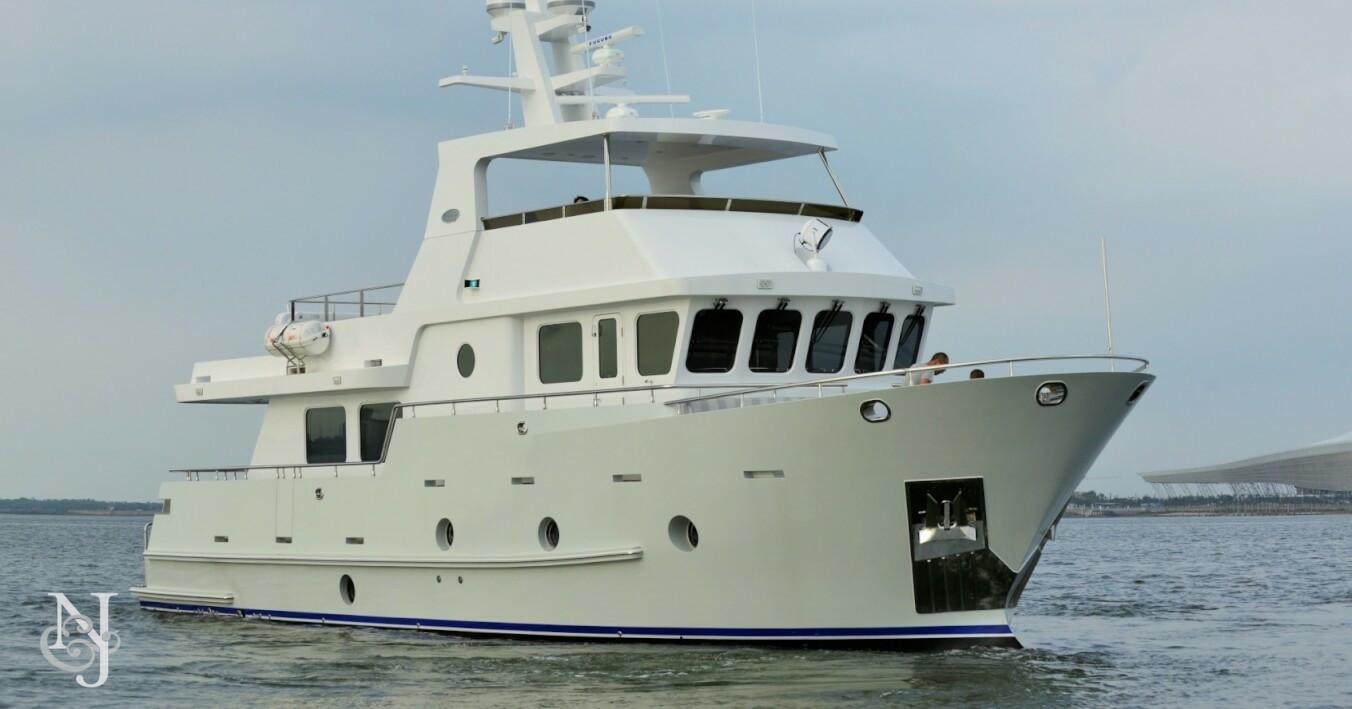 Bering 80 Steel Yacht
