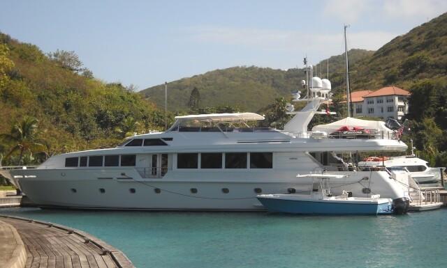 SAVANNAH Yacht | Intermarine Luxury Motor Yacht | Northrop & Johnson