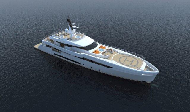 WIDER 165 Luxury Super Yacht For Sale