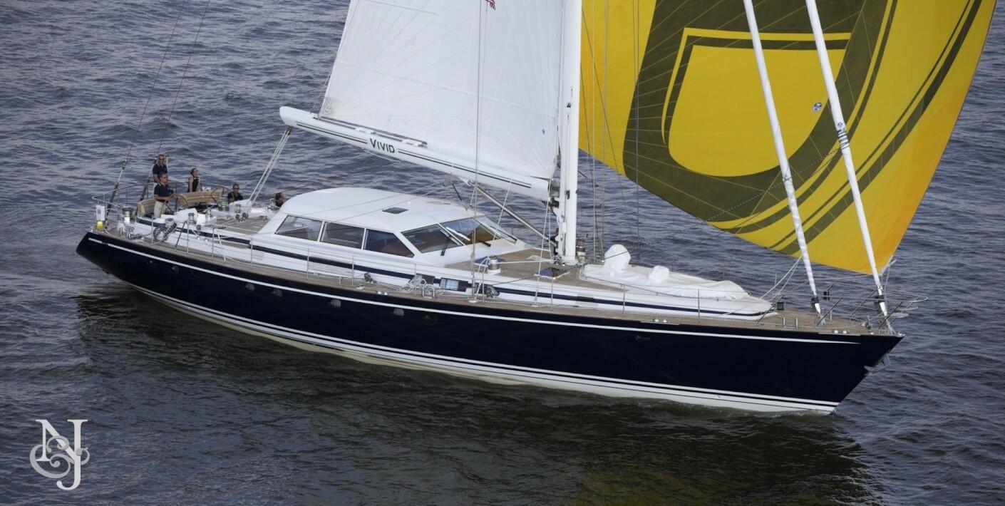 VIVID Yacht for Sale   Jongert Luxury Sail Yacht   Northrop & Johnson