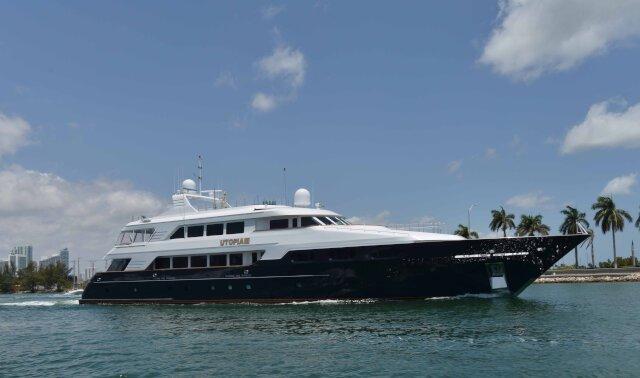 UTOPIA III Luxury Super Yacht For Sale