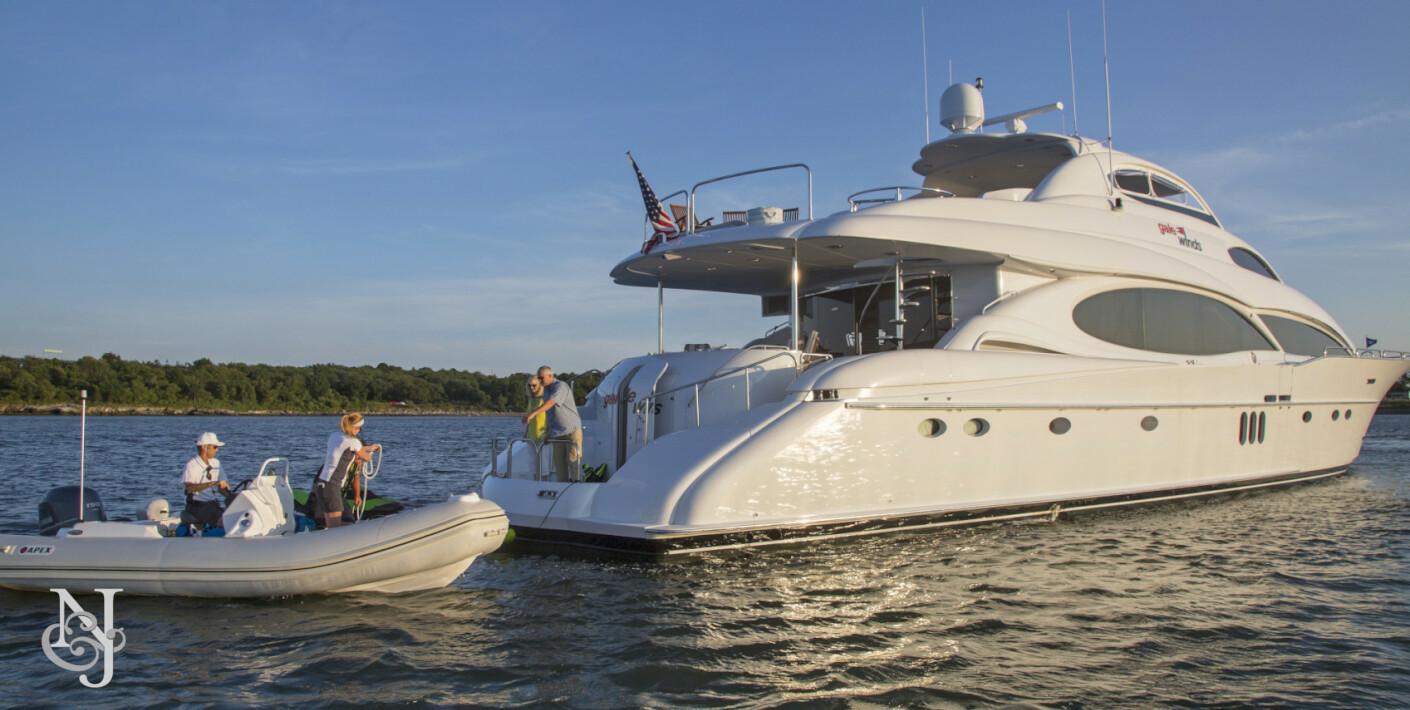 Northrop And Johnson >> GALE WINDS Yacht | Lazzara Luxury Motor Yacht | Northrop ...