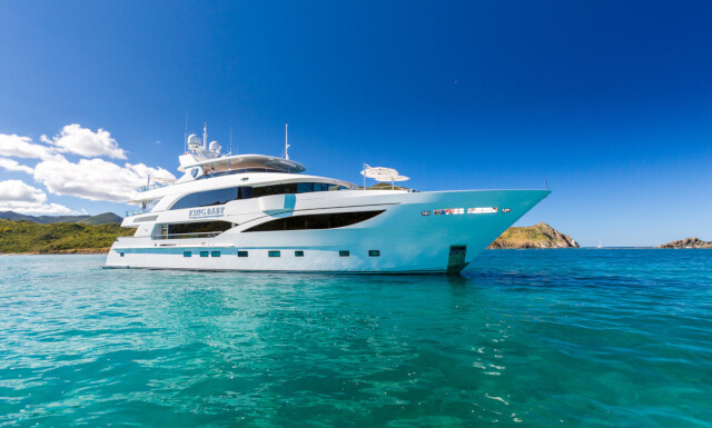 KING BABY yacht for charter