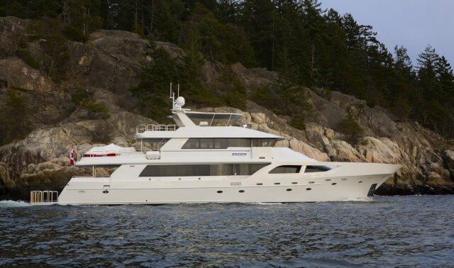 ENCORE Luxury Super Yacht For Sale