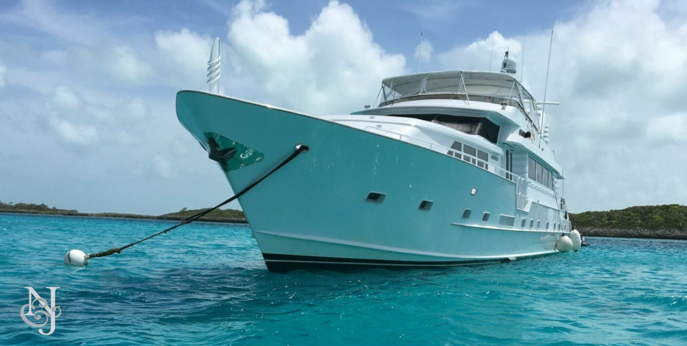 Insatiable yacht broward luxury motor yacht northrop for Broward motor vehicle registration