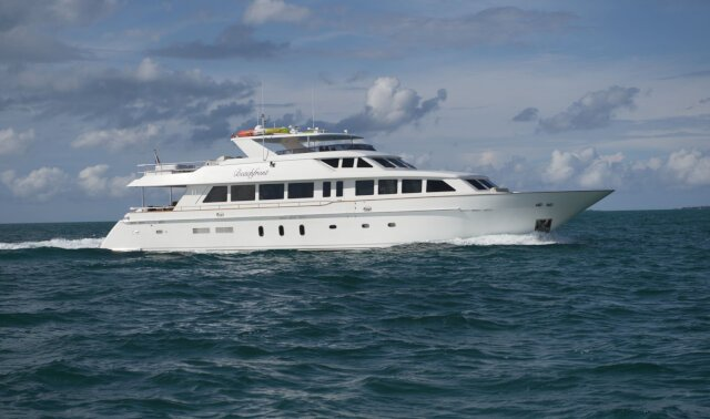 BEACHFRONT Luxury Super Yacht For Sale