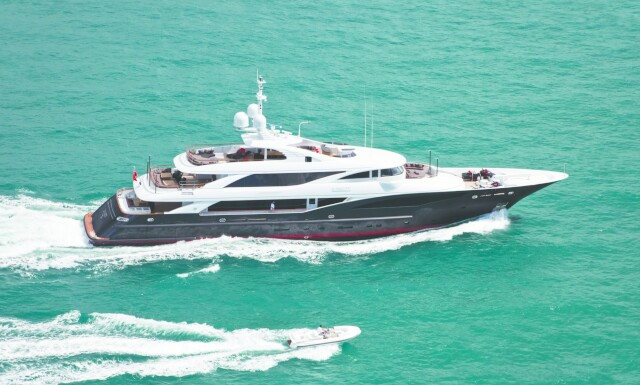 LIBERTY yacht for charter