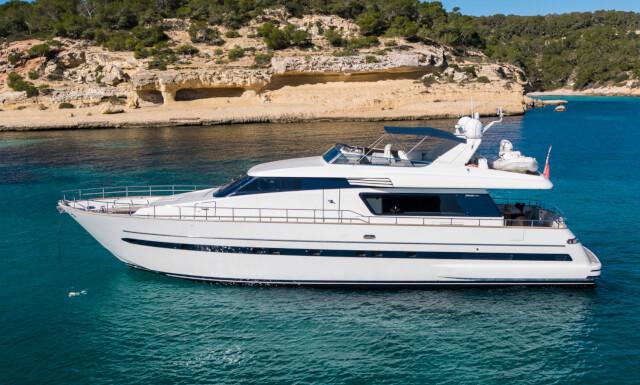 MYTHOS yacht for sale