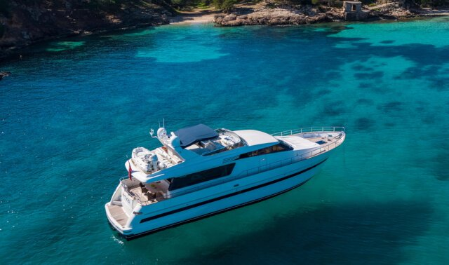 MYTHOS Luxury Super Yacht For Sale