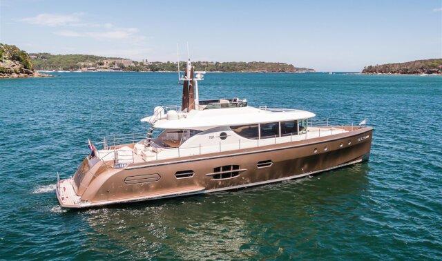 Charter NISI Luxury Yacht