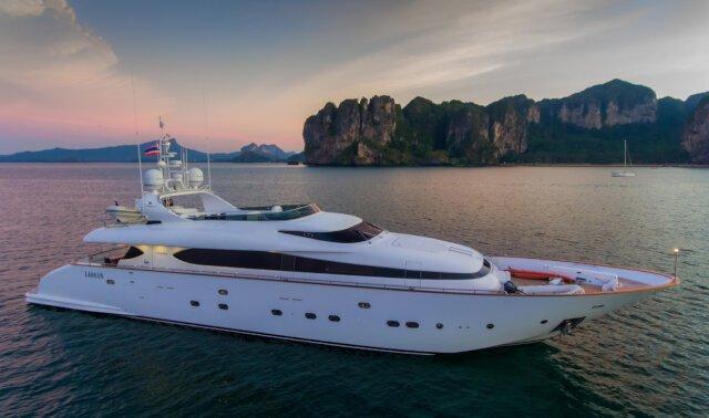 AVELINE Luxury Super Yacht For Sale