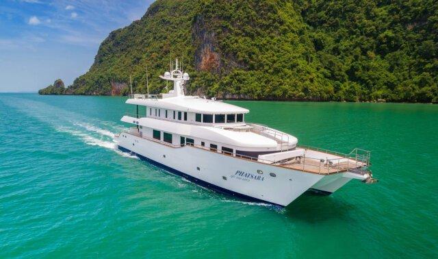 PHATSARA Luxury Super Yacht For Sale