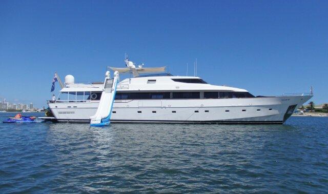 DEEP BLUE Luxury Super Yacht For Sale