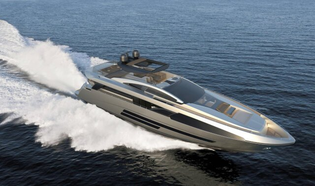 BUGARI F86 Luxury Super Yacht For Sale
