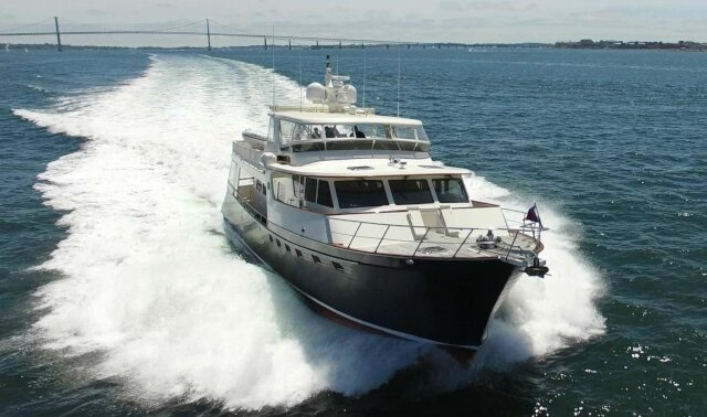 BLUE HERON Luxury Super Yacht For Sale