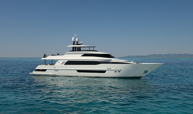 CRESCENT 117 Luxury Super Yacht For Sale