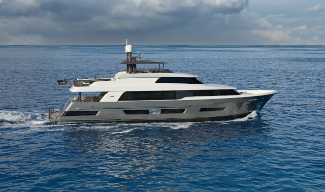 CRESCENT 110 Luxury Super Yacht For Sale