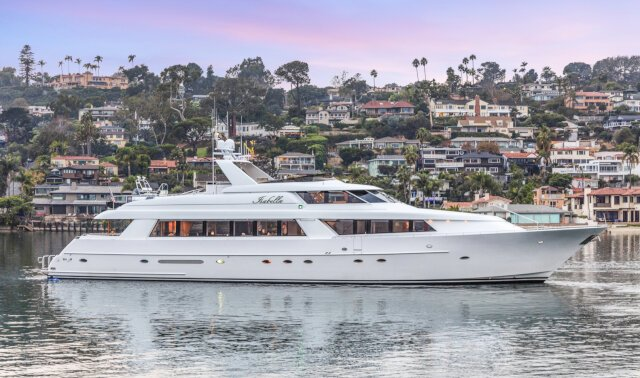 ISABELLA Luxury Super Yacht For Sale