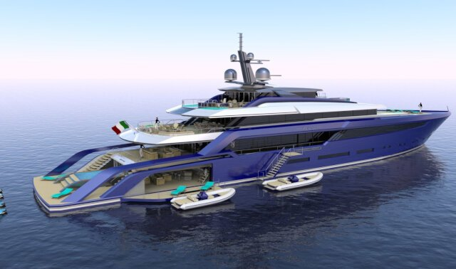 BEYOND 72M Luxury Super Yacht For Sale