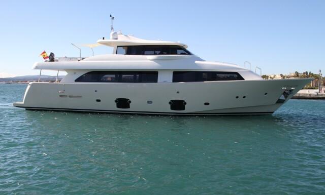 MALVASIA  yacht for charter