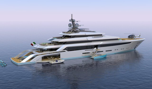 BEYOND 82M Luxury Super Yacht For Sale