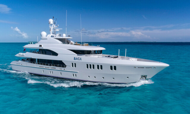 BACA yacht for charter