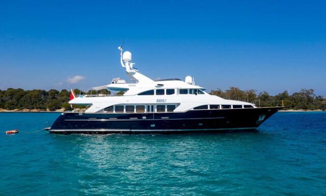 BANG! yacht for charter