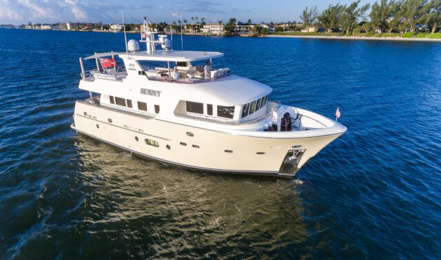 SUNNY Luxury Super Yacht For Sale