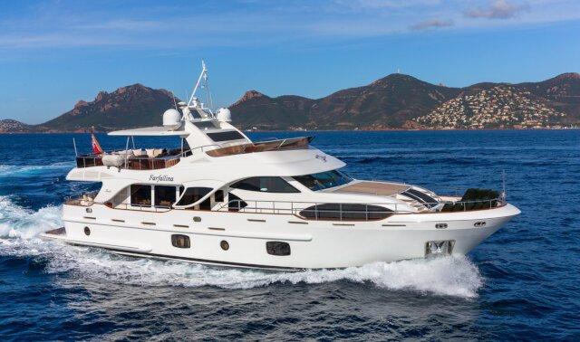 FARFALLINA Luxury Super Yacht For Sale