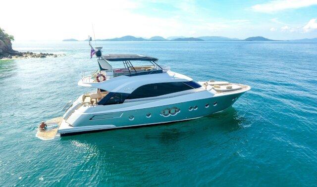 WASANA Luxury Super Yacht For Sale